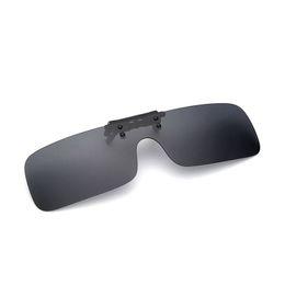 Photochromic Night Driving Sunglasses UK - Night Vision Goggles Fishing Drive clip HD Polarized Sunglasses Rimless glasses With Myopia Glasses men Traveling nearsightedness men