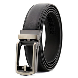 China KAWEIDA New hollow Double layer Automatic buckle leather belt men's genuine leather belt casual belts for men 110cm-130 supplier double layer belt suppliers