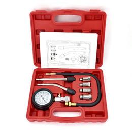 $enCountryForm.capitalKeyWord Australia - 9 PCS Petrol Gas Engine Cylinder Compressor Gauge Meter Test Pressure Compression Tester Leakage Diagnostic