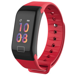 $enCountryForm.capitalKeyWord Australia - Color Screen Smart Bracelet Blood Oxygen Monitor Smart Watch Heart Rate Monitor Smartwatch Fitness Tracker Wristwatch For Android iPhone