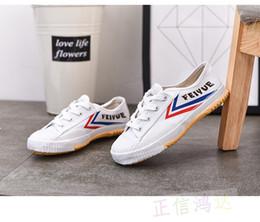 e48f85d6e New Classical Kung fu Shoes Martial arts Tai chi Taekwondo Wushu Karate  Footwear Sports Training Sneakers Black and white