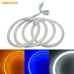 Bmw angel eye e46 online shopping - FEELDO Set Car LED Halo Rings Angel Eyes DRL Head Lamp For BMW E46 Coupe D E46 Cabrio Z3