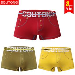 $enCountryForm.capitalKeyWord Australia - Cotton Male Underwear 3 Pcs  Lot Cotton Men Underwear Boxers Cueca Calzoncillos Hombre Underpants Underwear Men Boxers Shorts