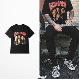 3f06c938cfc9 2018 Death push Punk rock T-Shirt Men s West Coast Skateboard High Road  Drake 2pac funny T-Shirt Hip hop Street Wear Top Tee