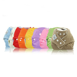 Wholesale 20pcs Winter Washable Cloth Diaper Reusable Adjustable Baby Cloth Nappy