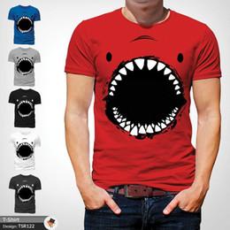 b4682a521 Funny Fishing T Shirts Canada - Shark face t shirt tshirt mens christmas  birthday gift fishing