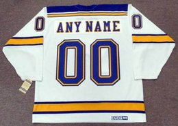 """$enCountryForm.capitalKeyWord Australia - 2018 Wholesale Cheap ST. LOUIS BLUES 1967 CCM Vintage """"Customized"""" Away Hockey Jersey All Stitched Top-quality Any Name Any Number"""
