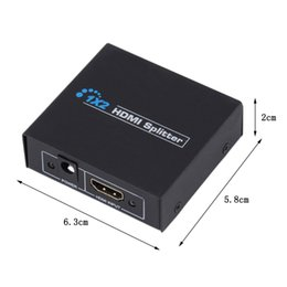 $enCountryForm.capitalKeyWord UK - 4K*2K V1.4 HDCP HDMI Splitter Full HD 1080p Video HDMI Switch Switcher 1X2 Split 1 in 2 Out Amplifier Dual Display For HDTV DVD PS3 Xbox 9