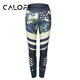 $enCountryForm.capitalKeyWord Australia - CALOFE Sport Yoga Leggings Women Yoga Pants Camouflage Pants Tights Printed Runnign Fit Gym Sports Pant Quick Dry Leggings