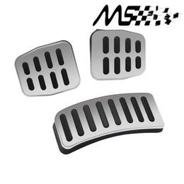 $enCountryForm.capitalKeyWord UK - Manual car Stainless Car Transmission MTpedal Cover for VW Polo Bora Lavida Fabia Clutch Accelerator Brake Gas pedal Kits