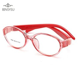 50875c6a51c0 Kids Optical Eyeglasses Ultra-light Oval No Screw Bendable, Children  Glasses Frame, Silicone Safe Flexible Frame