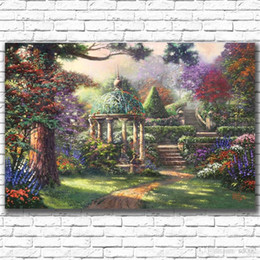 $enCountryForm.capitalKeyWord NZ - Exotic Mood Thomas Scenery Oil Paintings Micro Spray Living Room Coffee House Wall Decor Frameless Art Painting High End 26qc3 ii