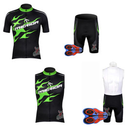Vest Team Cycling Canada - MERIDA team Cycling Short Sleeves jersey quick dry bib shorts Sleeveless Vest sets New bicycle ropa ciclismo breathable bike clothes E1402