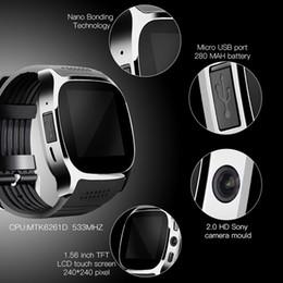 $enCountryForm.capitalKeyWord NZ - T8 Bluetooth Smart Watch With Sim Card Slot Camera Alarm Clock 6261D 260MHz 240mah Battery For IOS Android Smartwatch