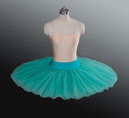 $enCountryForm.capitalKeyWord Australia - Green Ballerina Tutus White Professonal Half Pancake Platter Ballet Tutu For Women Children Black Half Ballet Tutu For girls