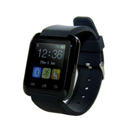 China New U8 Smartwatch Bluetooth Wrist Watches Touch Screen For iPhone 7 Samsung S8 Android Phone Sleep Monitor Smart Watch With Retail Package suppliers