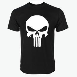 $enCountryForm.capitalKeyWord Canada - Skull Marvel t shirts for man summer new casual Punisher streetwear hip hop Comics Supper Hero Men T-Shirt fashion Tops Tee