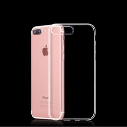 Iphone 5c Crystal Cases Australia - Ultra Thin 0.3MM TPU Case for Coque IPhone X XS MAX Clear Crystal Soft TPU Silicone Case for IPhone X XS 7 Case for IPhone 8 7 6S Plus 5S 5C