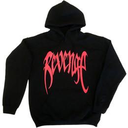 422944e57b9 Revenge Printed Mens Hip Hop Designer Hoodies Streetwear Hooded Sweatshirts  Male Casual High Street Pullover Free Shipping