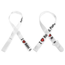 Baby PaciGrip Pacifier Holder Loop Fixed Portable Print Rope