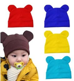 $enCountryForm.capitalKeyWord NZ - Wholesale Hat children Winter Caps Hats For boys Devil Horns Kids Ear Cute Crochet Braided Knit Beanies Hat Warm Cap Hat Bonnet girls