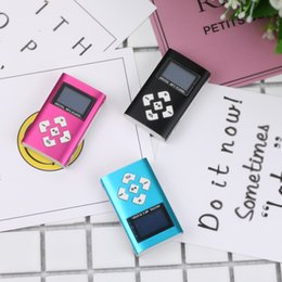 $enCountryForm.capitalKeyWord Australia - LCD Screen Metal Mini Clip MP3 Player Sports with Micro TF SD Slot with Earphone and USB Cable Portable MP3 Music Players