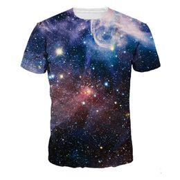 $enCountryForm.capitalKeyWord Canada - Fitness t-shirt Men Galaxy 3D Tops Gothic Fashion Streetwear Mens Casual Sportswear Soft Material T-Shirt Punk tshirts Dropship