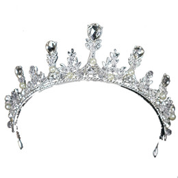 $enCountryForm.capitalKeyWord UK - temperament Diamond insert crystal An crown tiara wedding bridal hair accessories veils designer hats accessories beach wedding dresses