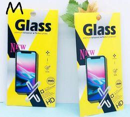 Опт Закаленное стекло розничная упаковка коробка для IPhone X XS 8 7 6 6S Plus телефон закаленное стекло протектор экрана пустая коробка 100 шт.