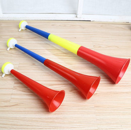 Large number Third section horn Telescopic horn World Cup Sports meeting Refueling Toys plastic horn T4H0497