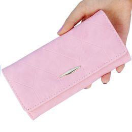 $enCountryForm.capitalKeyWord NZ - New fashion Ling grid embossed wallet purse women,Ladies clutch long purse,Female Hasp wallet coin purse card holder Carteira #0