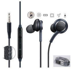 $enCountryForm.capitalKeyWord Australia - S8 Earphones Earbuds Headphones 3.5mm in ear Headset With Mic for Samsung Galaxy S8 Plus S7 S6 Edge Note 5