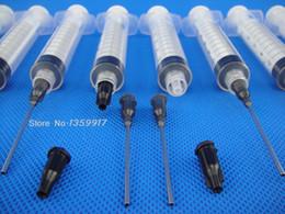 $enCountryForm.capitalKeyWord NZ - 10ml Syringes with 16Ga 1.5'' Blunt Tip Needle - Great for Glue Applicator, Oil Dispensing
