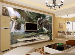 $enCountryForm.capitalKeyWord NZ - Custom 3d wall murals wallpaper 3d photo wallpaper Dinosaur 3D living room TV background wall home decoration Children's room