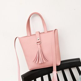 $enCountryForm.capitalKeyWord UK - J&Q store new women's bag mini tassel soft PU bag tote shoulder slanting mobile phone female crossbody messenger mini