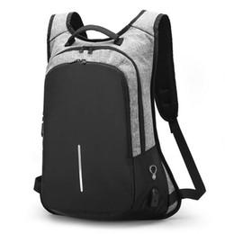 Creative Backpack USB Charging Code Lock Anti-thef Laptop Backpack School  Backpack Computer Bag Travel Bag Waterproof 45e96626ed5ae