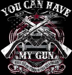 Men T Shirt Gun Australia - Second Amendment T Shirt Have My Gun Cold Dead Fingers Mens Tall Xlt To 4Xlt T-Shirt Men Male Free Shipping Custom Short Sleeve