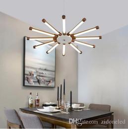 Sunflower Lights NZ - Minimalist modern LED pendant lights sunflower chandeliers suspension pendant lamp ceiling lighting fixture indoor lighting decoration