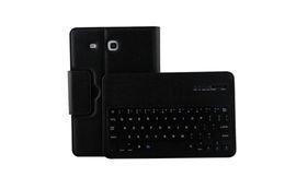 $enCountryForm.capitalKeyWord Australia - Smart Bluetooth Keyboard Cover For Samsung Galaxy Tab E 9.6 T560 T561 Litchi PU Leather Tablet Case Funda+Stylus Pen+Film.