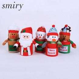 $enCountryForm.capitalKeyWord NZ - Smiry 1pc Christmas Candy Box Decoration Supplies For Home Santa Claus Merry Christmas Gift Bag Xmas Decoration navidad for Home