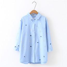 deb4555de6cc66 oversize shirt 2018 spring big size Women long Shirt Cotton Blouses Style  Clothing butterfly Sleeve Ladies Shirts plus size 4xl
