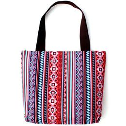 782670e2b785 Casual Vintage Wave stripe texture handbags Women Messenger Bags Lady Tote  Retro Cloth bags Female Leisure travel Shoulder Bag