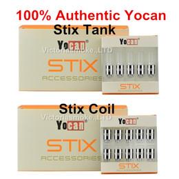 Discount pen coils ceramic - 100% Authentic Stix Tank Yocan STIX ceramic coil for Original Starter Kit Vape Pen 100% Genuine