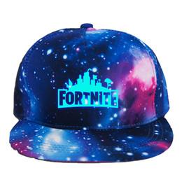 Fortnite Luminous Caps Подростковая бейсболка 2018 летняя солнечная шляпа хип-хоп DHL бесплатная доставка 2 цвета C4665