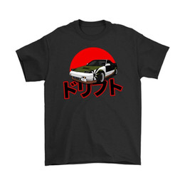 Wholesale 2018 hot tees Top Summer Men S fashion T Shirt cheap MisterTwo MR2 Drifting JDM Tuner Summer Men S fashion Tee