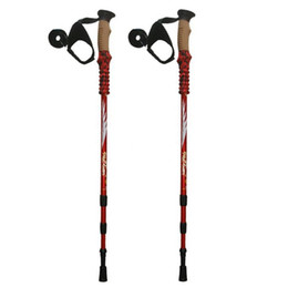 $enCountryForm.capitalKeyWord UK - Anti Shock Nordic Walking Sticks Telescopic Trekking,Hiking Poles Climbing Ultralight Walking Canes With EVA Cork Handle 1 Pair