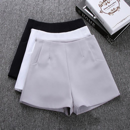 $enCountryForm.capitalKeyWord NZ - 2018 New Summer hot Fashion New Women Shorts Skirts High Waist Casual Suit Shorts Black White Women Short Pants Ladies Shorts