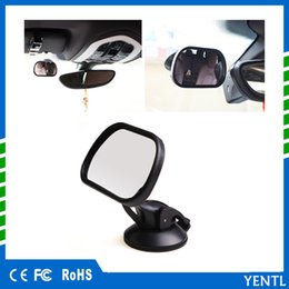 Baby View Mirror Car NZ - free shipping yentl Car Rear Seat View Mirror Baby Child Safety Universal Car Rear Seat View Mirror Baby Child Safety With Clip and Sucker