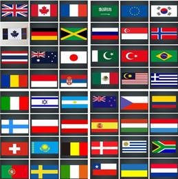 Discount japan stickers car - New Decorative Stickers USA,Germany , Jamaica, Britain, France, Mexico, Japan, car Sticker Colorado, Brazil Window Stick