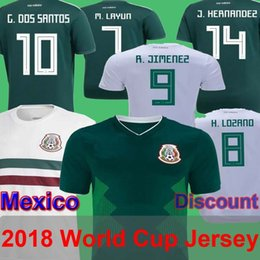Mexico 2018 World Cup Soccer Jersey Thailand Home Away 10 G.Dos Santos  M.Layun H.Lozano Raul C.Vela Cota Delivery Guaranteed 7546637fb